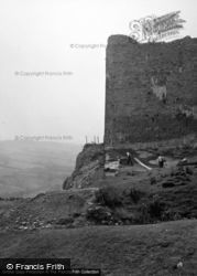 Working At The Castle 1953, Carreg Cennen