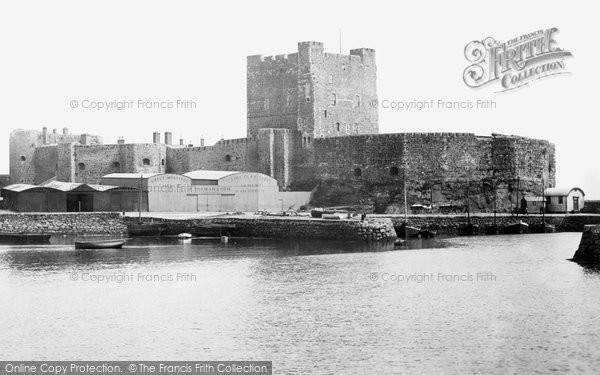 Photo of Carrickfergus, Castle 1897