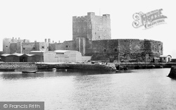 Carrickfergus, Castle 1897