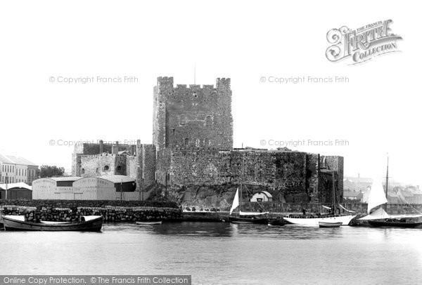Photo of Carrickfergus, The Castle 1897