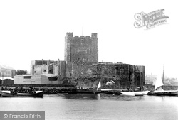 Carrickfergus, The Castle 1897