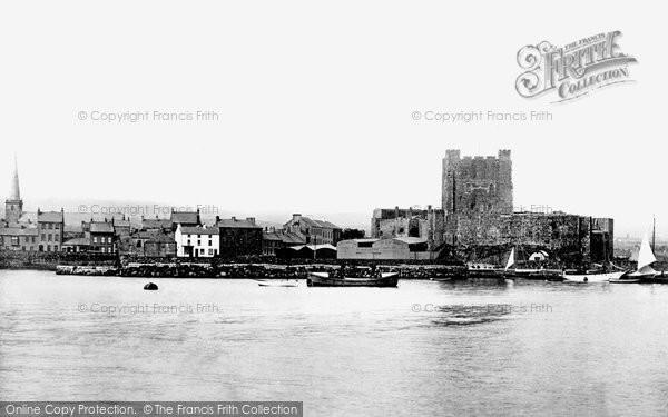 Photo of Carrickfergus, The Castle From Alexandra Pier 1897