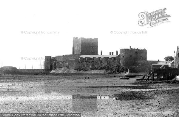 Photo of Carrickfergus, The Castle, North East 1897
