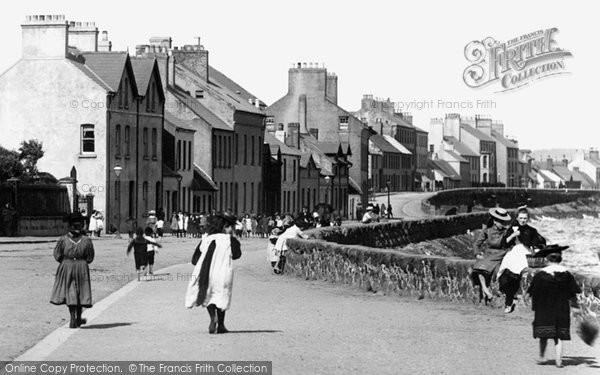 Photo of Carrickfergus, The Promenade 1897