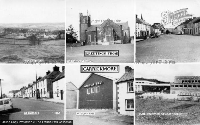 Photo of Carrickmore, Greetings From Carrickmore c.1965