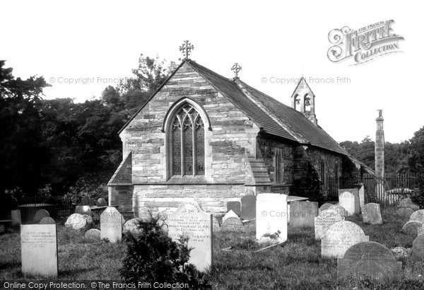 Carrog, the Church 1888