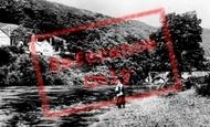 Carrog, River Dee c1935