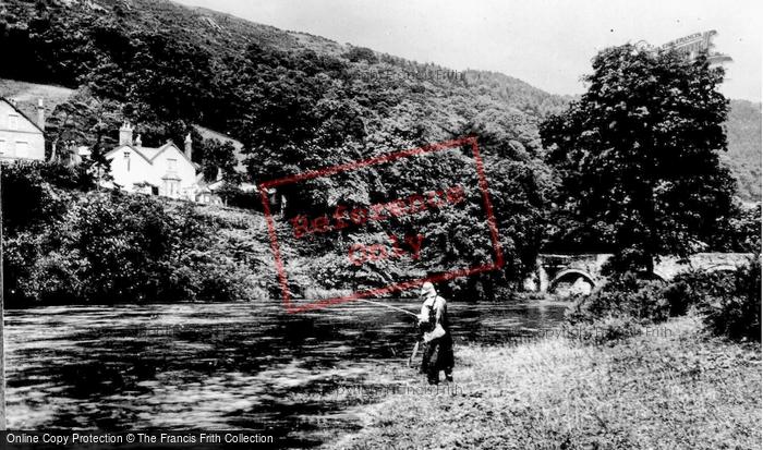 Carrog, River Dee c1955