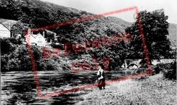 Carrog, River Dee c.1935