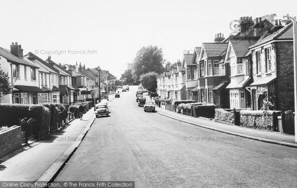 Photo of Carshalton, Beeches, Gordon Road c.1965