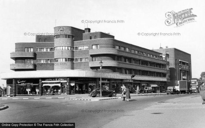 Photo of Carshalton, Bishopsford Road c.1955
