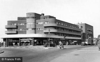 Carshalton, Bishopsford Road c1955