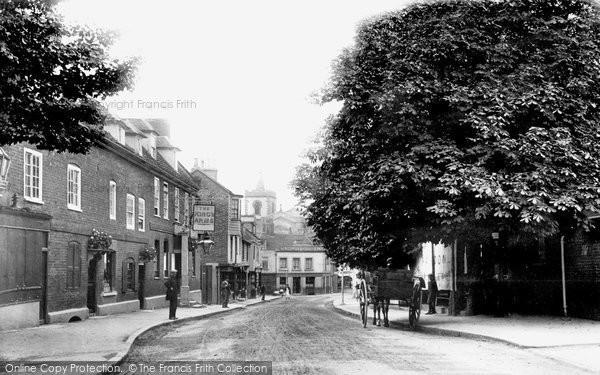 Carshalton, High Street 1896