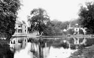 Carshalton, Pond from the Bridge 1896