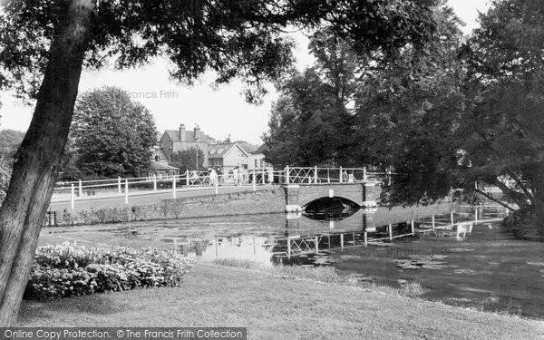 Carshalton, the Grove c1955