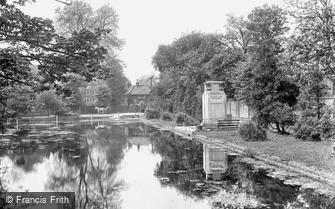 Carshalton, the War Memorial and Pond 1928