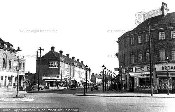 Carshalton, Wrythe Lane c1950