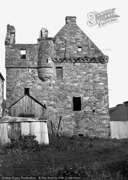 Photo of Carsluith, Castle 1951