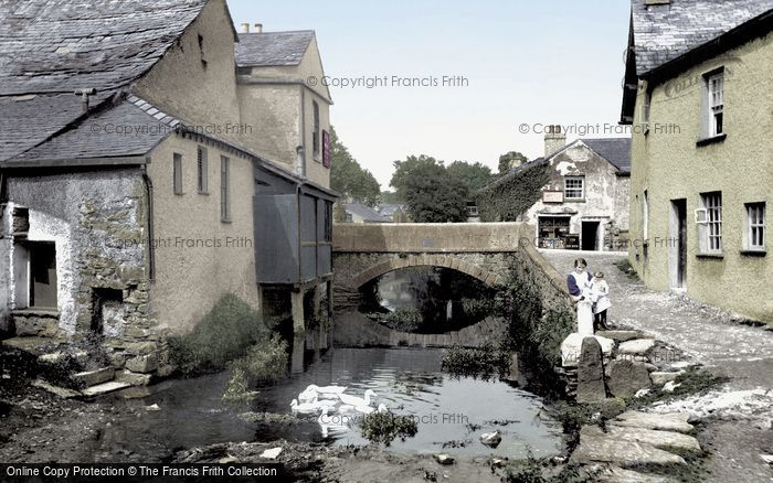 Cartmel, Beck 1914.  (Neg. 67410t)  � Copyright The Francis Frith Collection 2008. http://www.francisfrith.com