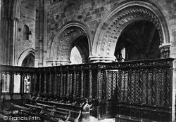 Cartmel, Church, Choir Stalls c.1875