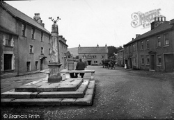 Cartmel, Market Place 1912