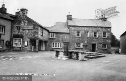 Cartmel, Market Square c.1960