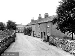 Cartmel, Priest Lane 1929