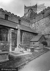Cartmel, Priory Church And War Memorial 1921
