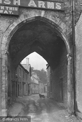 Cartmel, Priory Gateway 1912