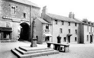 Cartmel, the Cross and Market Place 1894