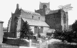 Cartmel, The Priory Church 1894