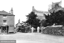 Cartmel, The Priory Church 1914