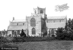 Cartmel, The Priory Church, South Side 1894