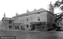 Cartmel, Ye Priory Shoppe And Bay Tree Cafe 1936