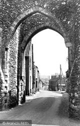 Castle Acre, Bailey Gate And Bailey Street c.1955