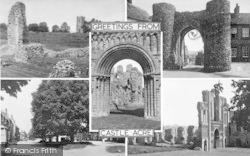 Castle Acre, Composite c.1955