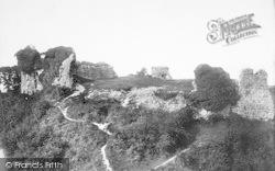 Castle Acre, Ruins Of Old Castle 1891