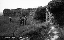 Castle Acre, The Castle 1949
