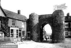 Castle Acre, The Old Gate 1891