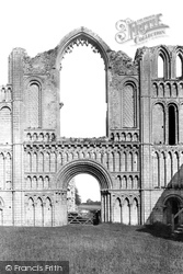 Castle Acre, The Priory, The West Front 1891