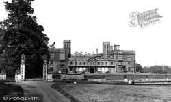 Castle Ashby, House 1953