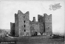 Castle Bolton, Bolton Castle 1887