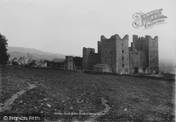 Castle Bolton, Bolton Castle And Church 1893