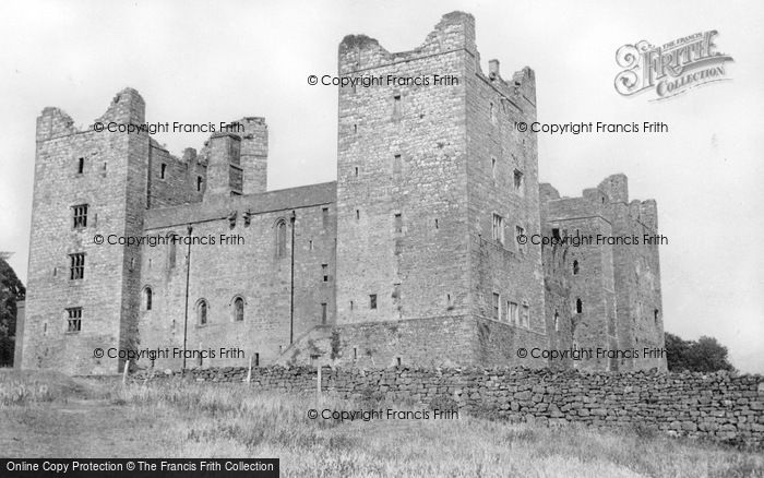 Photo of Castle Bolton, Bolton Castle c.1955