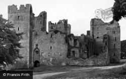 Castle Bolton, Bolton Castle c.1955