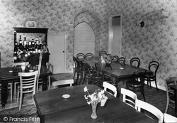 Castle Bolton, Bolton Castle Dining Room c.1960