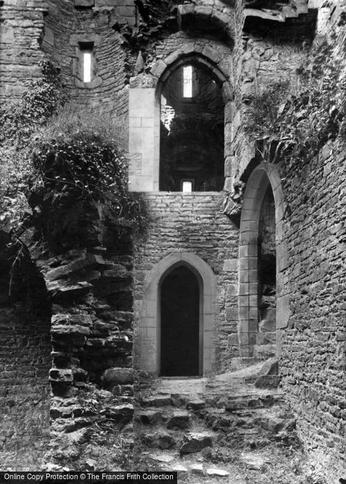 Photo of Castle Bolton, Bolton Castle, Dungeon Entrance 1911