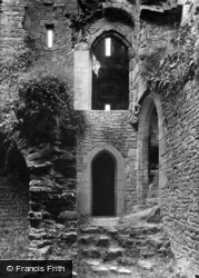 Castle Bolton, Bolton Castle, Dungeon Entrance 1911