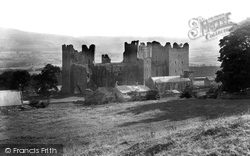 Castle Bolton, Bolton Castle From The North East 1911
