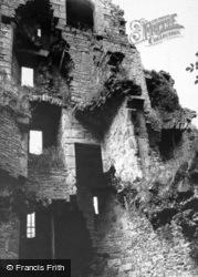 Bolton Castle, Minstrel's Gallery c.1955, Castle Bolton